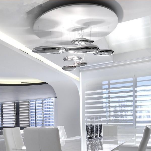 LS00030 - Chrominis LED pakabinamas šviestuvas