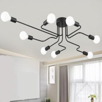LS00038 - Vintažinis vidaus LED lubinis šviestuvas