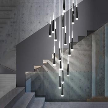 LS00058 - Modernus vidaus LED pakabinamas šviestuvas